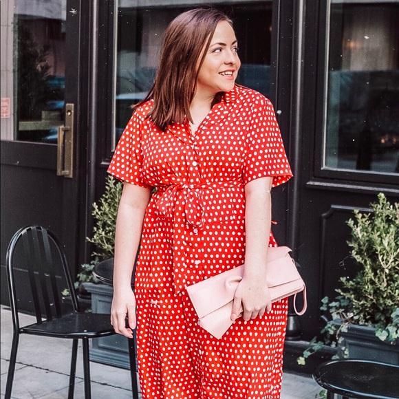 2037af32142c29 a new day Dresses | Target Red Polka Dot Dress | Poshmark